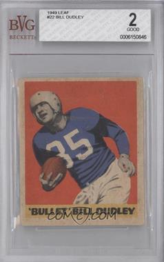 1949 Leaf - [Base] #22 - Bill Dudley [BVG2]