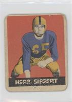 Herb Siegert [Poor]