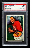 Y.A. Tittle [PSA 7 NM]