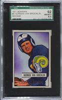 Norm Van Brocklin [SGC 92 NM/MT+ 8.5]