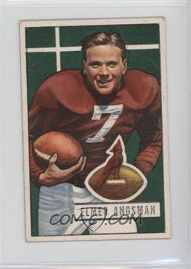 1951 Bowman - [Base] #97 - Elmer Angsman [GoodtoVG‑EX]
