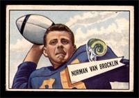 Norm Van Brocklin [VGEX]