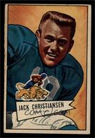 Jack Christiansen [GOOD]