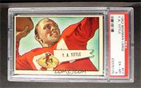 Y.A. Tittle [PSA 6 EX‑MT]