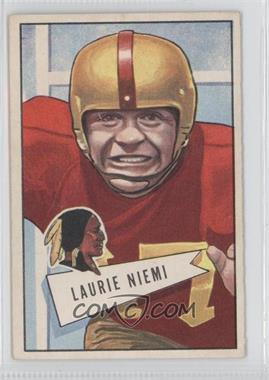 1952 Bowman - [Base] - Large #6 - Laurie Niemi