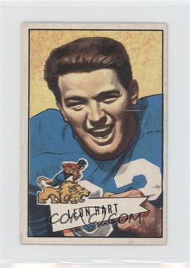 1952 Bowman - [Base] - Small #15 - Leon Hart