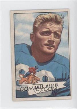 1952 Bowman - [Base] - Small #52 - James Martin
