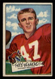 1952 Bowman - [Base] - Small #93 - Fred Benners [VG]