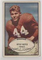 Kyle Rote [GoodtoVG‑EX]