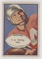 Y.A. Tittle [Poor to Fair]
