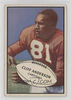 Cliff Anderson [Good to VG‑EX]