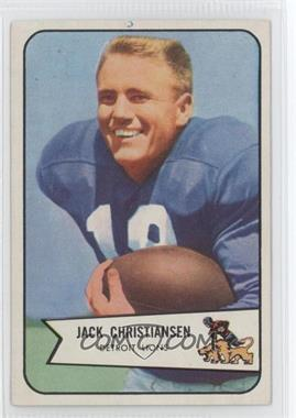 1954 Bowman - [Base] #100 - Jack Christiansen [Good to VG‑EX]
