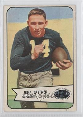 1954 Bowman - [Base] #128 - John Lattner [GoodtoVG‑EX]