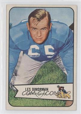 1954 Bowman - [Base] #29 - Les Bingaman