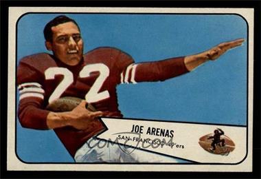 8a6eca633 1954 Bowman -  Base   30 - Joe Arenas  NM