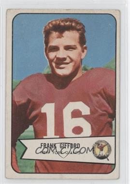 1954 Bowman - [Base] #55 - Frank Gifford [Good to VG‑EX]