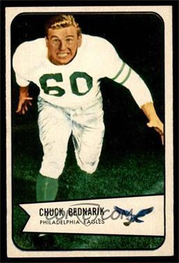 1954 Bowman - [Base] #57 - Chuck Bednarik [EX]