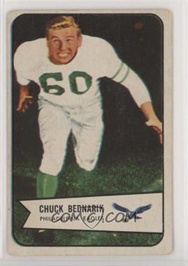 1954 Bowman - [Base] #57 - Chuck Bednarik [Poor]