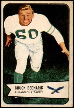 1954 Bowman - [Base] #57 - Chuck Bednarik [VGEX]