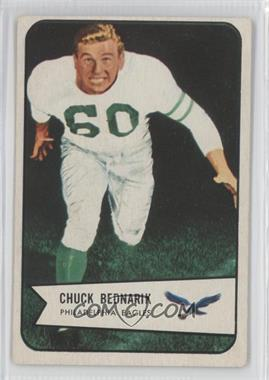 1954 Bowman - [Base] #57 - Chuck Bednarik [Good to VG‑EX]