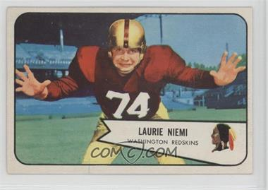 1954 Bowman - [Base] #63 - Laurie Niemi