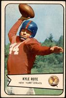 Kyle Rote [GOOD]