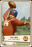 Kyle Rote [FAIR]
