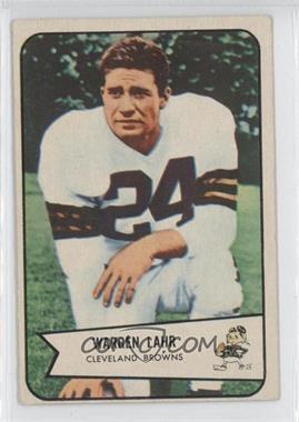 1954 Bowman - [Base] #74 - Warren Lahr