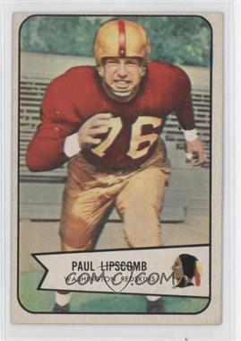 1954 Bowman - [Base] #83 - Paul Lipscomb