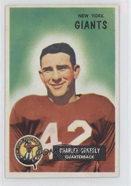 1955 Bowman - [Base] #16 - Charley Conerly [GoodtoVG‑EX]