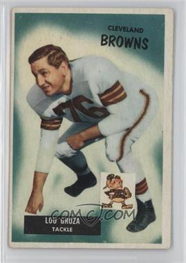 1955 Bowman - [Base] #37 - Lou Groza