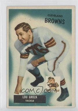 1955 Bowman - [Base] #37 - Lou Groza