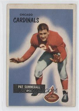 1955 Bowman - [Base] #52 - Pat Summerall [Good to VG‑EX]