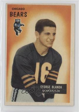 1955 Bowman - [Base] #62 - George Blanda
