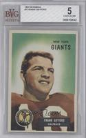 Frank Gifford [BVG 5 EXCELLENT]