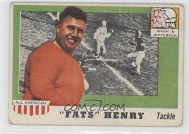 "1955 Topps All American - [Base] #100 - ""Fats"" Henry [Good to VG‑EX]"