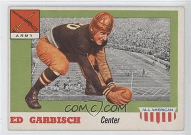1955 Topps All American - [Base] #44 - Ed Garbisch