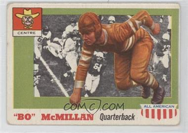 1955 Topps All American - [Base] #47 - Bo Mcmillan [Good to VG‑EX]