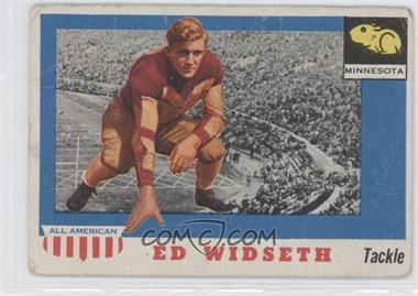 1955 Topps All American - [Base] #48 - Ed Widseth [Good to VG‑EX]