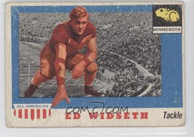 1955 Topps All American - [Base] #48 - Ed Widseth [GoodtoVG‑EX]