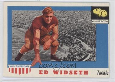 1955 Topps All American - [Base] #48 - Ed Widseth