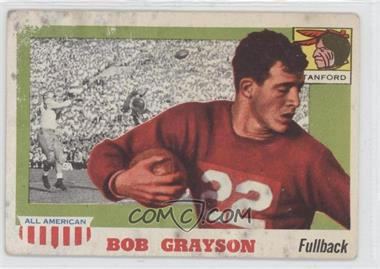 1955 Topps All American - [Base] #5 - Bob Grayson