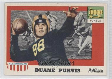 1955 Topps All American - [Base] #51 - Duane Purvis