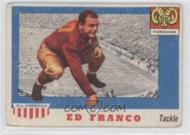 1955 Topps All American - [Base] #58 - Ed Franco [Good to VG‑EX]