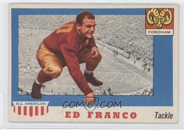 1955 Topps All American - [Base] #58 - Ed Franco