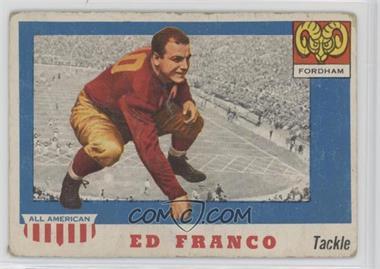 1955 Topps All American - [Base] #58 - Ed Franco [PoortoFair]