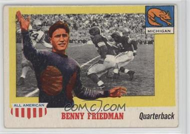 1955 Topps All American - [Base] #64 - Benny Friedman [GoodtoVG‑EX]
