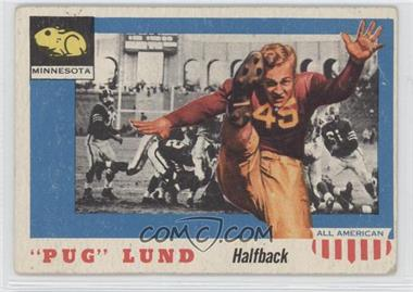 "1955 Topps All American - [Base] #79 - ""Pug"" Lund [Good to VG‑EX]"