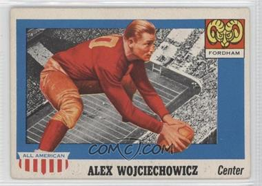 1955 Topps All American - [Base] #82 - Alex Wojciechowicz