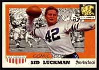 Sid Luckman [EX]